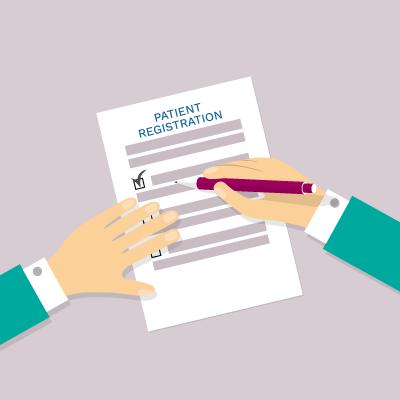 Register as a patient